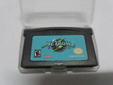 Metroid Fusion Game Boy Advance Game Boy Advance GBA