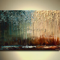 Hand painted landscape Oil painting Wall Pictures for Living room art painting