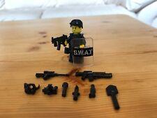 LEGO SWAT Team Minifigure Custom Army Police Military Accessories Guns Pack Lot