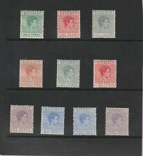 BAHAMAS SG 149-154A MINT HINGED