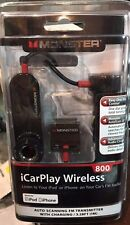 A lot of 25 MONSTER iCarPlay Wireless 800 iPod iPhone Radio Transmitter /Charger
