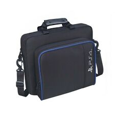 Black Oxford Carry Travel Case Shoulder Bag For PS4/Pro/Slim Game Consoles&Acce`