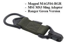 Magpul - MAG 516 RGR Ranger - MS1 - MS3 ParaClip Sling Adapter NEW Ranger Green