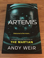 ARTEMIS Andy Weir (The Martian) 1st - 1st NEW Hardback