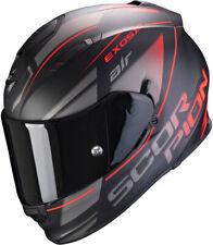 CASCO HELMET MOTO INTEGRALE SCORPION EXO 510 AIR NERO ROSSO BLACK RED MATT TG L