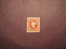 Heligoland Stamp Scott# 6  Queen Victoria !869-71 Mint on paper CV 175.00 L54