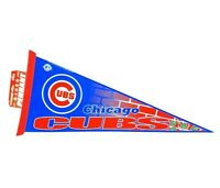 MLB Chicago Cubs Team Logo Baseball Pennant Wincraft 2007 Made in the USA