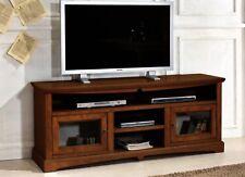 MOBILE PORTA TV IN LEGNO FINITURA  NOCE ANTE VETRO xSOGGIORNO SALA DF354