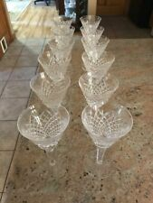 "Waterford - Alana Pattern - Lot of 12 Water or Wine Glasses - 6 1/2"" Tall"