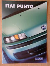 FIAT PUNTO orig 2000 UK Mkt prestige sales brochure - ELX HLX HGT Sporting