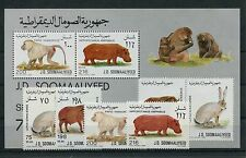 Somali 408/11 Block 25 postfrisch / Tiere ................................1/1117