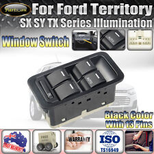 Master Power Window Switch for Ford Territory SX SY TX Illuminated Black 13 Pin