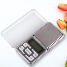 Pocket 200g x 0.01g Mini Digital Scale Jewelry Gold Herb Balance Weight Gram LCD