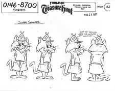 SNOOPER AND BLABBER 8-PAGE SET OF HANNA-BARBERA MODEL SHEETS W/ MULTIPLE IMAGES