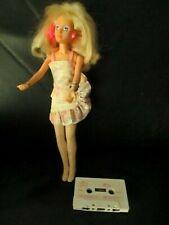 Rare Jem and the Holograms Blinking Working Earrings Doll & Cassette Tape Hasbro