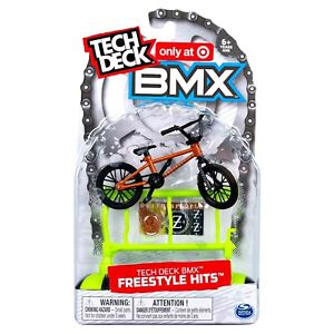 TECH DECK BMX Freestyle Hits WETHEPEOPLE Finger Bike + Obstacle Target Excl