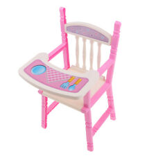 "High Chair Dining Chair Furniture for 9-11"" Reborn Girl Doll Kids Play Toy"