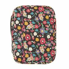 Premium Canvas Bible Covers for Women, Pretty Colorful Bible Cover (Floral)