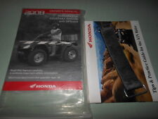 Honda OEM 08 TRX680FA/FGA FOURTRAX RINCON/ GPS Owner's Manual Book # 31HN8650