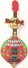 Hard Rock Cafe Minneapolis 2004 Christmas Ornament Guitar Pin Hrc Catalog #25813