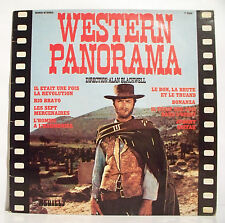 33T WESTERN PANORAMA Disque LP Alan BLACKWELL Films JOHNNY GUITAR -7 MERCENAIRES