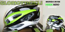 CASCO BICI MERIDA VERDE/NERO/BIANCO MV88 TG. M (56-58 )