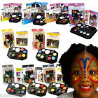 SNAZAROO FACEPAINTING PARTY KIT SPARKLE PALETTE BODY FACE PAINTS PAINT GUIDE