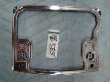 chrome Harley Evo rocker box inserts Softail FXR FL motor 17320-92 EP12585