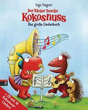 Der kleine Drache Kokosnuss Das große Liederbuch + CD Ab 5 Jahre + BONUS