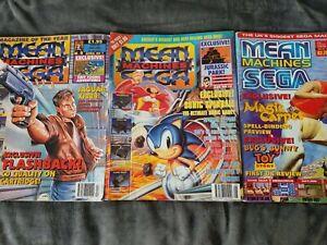 Mean Machines Sega Magazine No 7/10/41 - OK condition