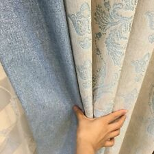 Jacquard Fabric Modern Curtains Living Dining Room Bedroom Embroider Curtain New