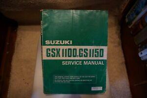 Suzuki gsx1100E,EF,EFE,EFG factory service manual
