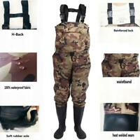 Men&Women Nylon/PVC Fishing Hunting Waterproof Chest Waders Suspenders Jumpsuits