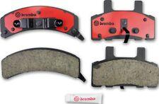 Disc Brake Pad Set-Premium NAO Ceramic OE Equivalent Pad Front Brembo P10021N