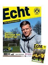 Programmheft # 123 - BVB 09 / Hamburger SV HSV - D. Burnic - Gameday Magazine