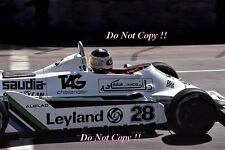 CARLOS REUTEMANN Williams FW07B USA OVEST GRAN PREMIO DI LONG BEACH 1980 fotografia 1