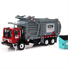 NEW 1:24 Scale Diecast Material Transporter Garbage Truck Vehicle Car Model Toys