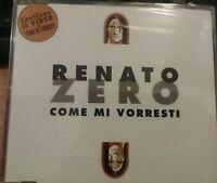 RENATO ZERO - COME MI VORRESTI - CD SINGOLO SIGILLATO (SEALED)