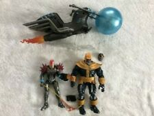 Marvel Legends Cosmic Ghost Rider and King Thanos + Head BAF Loose