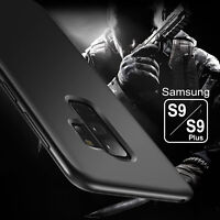 For Samsung Galaxy S9 Plus Thin Slim Soft TPU Case Matte Shockproof Bumper Cover