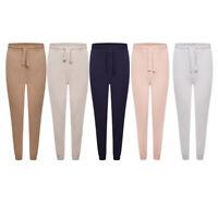 Womens Super Stretch Slim Fit Cuffed Joggers Casual Ladies Longwear Trousers