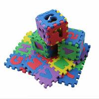 EVA 36Pcs Mousse Bébé Enfant Puzzle Alphabet Numéros Blocs Tapis Éducatif Jouet