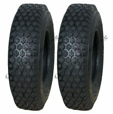 4.10/3.50-6 tyre, for hand cart, truck, mower, implement, washer tire - set of 2