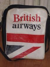 Big Aeroflot Airlines Vintage Retro Britich Airvays Bag Civil Aviator Rare