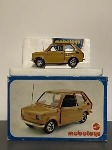 Mebetoys 1/24 1/25 Fiat 126 Mattel