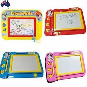 2xKid Magnetic Drawing Board Sketch Pad Doodle Writing Art Child Toy GWRIT