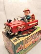 MYSTERY ACTION CAR, FIRE CHIEF, Jaban 1950/60