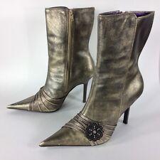 Steve Madden Metallic Metallic Metallic Stiefel for Damens for sale     e09f72