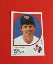 1988 Panini Baseball Scott Fletcher Sticker #206***Texas Rangers***