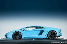 1:18 MR Collection Lamborghini Aventador LP-700 Baby Blue